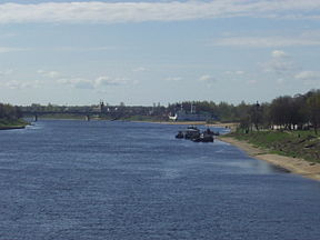 Velikaya river in Pskov.JPG