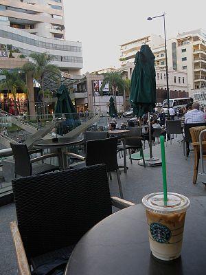 Rue Verdun - Sidewalk Cafes along Verdun Street