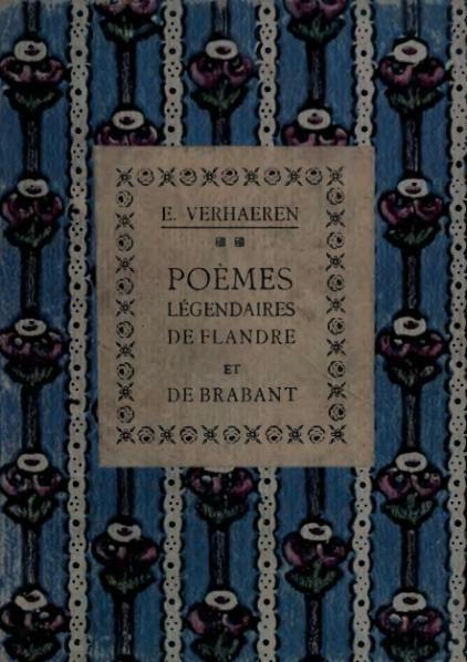 File:Verhaeren - Poèmes légendaires de Flandre et de Brabant, 1916.djvu