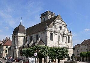 Haute-Saône - Image: Vesoul église Saint Georges vue générale
