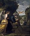 """Vicente Carducho """"Encuentro de san Juan de Mata y san Félix de Valois"""", Museo del Prado.jpg"""