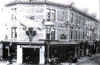 Waterfoot, Lancashire - Trickett's Arcade c 1900