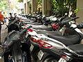 Vietnam 08 - 73 - Saigon motorcycles parked (3170534189).jpg