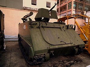Vietnamese M113 in the Army Museum in Saigon, 2012-01.jpg