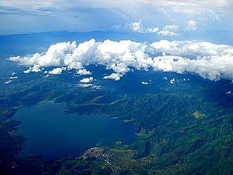 Buhi, Camarines Sur - Image: View of Buhi from Mt. Asog