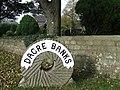 Village sign (Dacre Banks) - geograph.org.uk - 601312.jpg