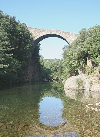 Villemagne-l'Argentière - Image: Villemagne l'Argentière Pont du Diable