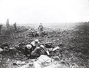 Vimy Ridge - Canadian machine gun crews