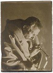 Self-portrait of Vincenzo Pastore