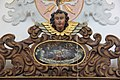 Violau, Wallfahrtskirche St Michael, Confesion booth 004.JPG