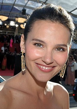 Virginie Ledoyen in Cannes 2012.