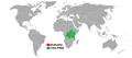 Visa policy of Burundi.png