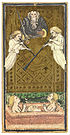 Visconti-Sforza tarot deck. Judgement.jpg