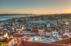 Lisbona: Vista de Lisboa