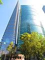 Vista del edificio Chapultepec Uno y la Torre Mayor 02.jpg