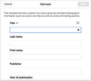 VisualEditor - Editing references - Cite book required fields.png