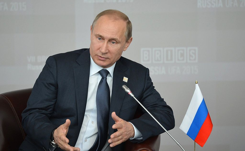 Vladimir Putin, BRICS summit 2015 06