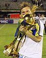 Vladyslav Kalytvyntsev with Ukrainian Cup.jpg