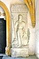 Voelkermarkt St Margarethen Pfarrkirche Grabstein Felix Victor Rauber zu Reinegg 22082012 066.jpg