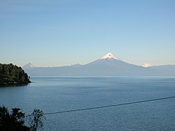 Llanquihue Lake and the Osorno Volcano