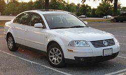 B5.5 Volkswagen Passat sedan (US)