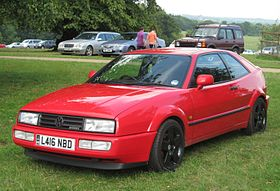 Volkswagen Corrado VR6 2861cc registered November 1993.JPG