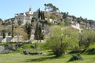 Le Beaucet Commune in Provence-Alpes-Côte dAzur, France