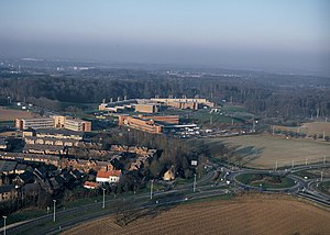 Walloon Brabant - Louvain-la-Neuve Science Park, aerial view
