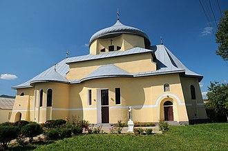 Vyzhnytsia - Image: Vyzhnytsia Mykhailivska church DSC 5779 73 205 0005