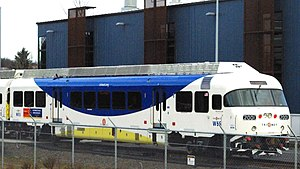 English: Westside Express Service train at Wil...