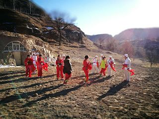 District in Shaanxi, People