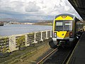 Waiting to depart from Derry-Londonderry (Waterside) Railway Station - geograph.org.uk - 746432.jpg