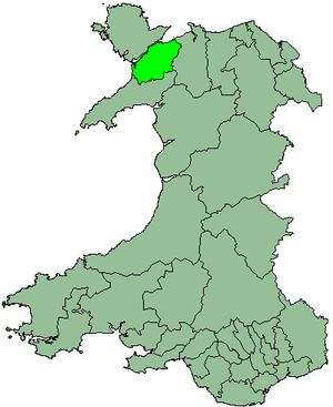 District of Arfon - Image: Wales Arfon 1974