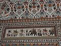 Wall painting on palace of Arki, capital of earstwhile Bhagal princely State,Himachal Prades, India 11.jpg