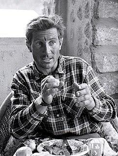 Walter Bonatti Italian mountaineer