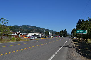 Walterville, Oregon Unincorporated community in Oregon, United States