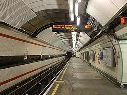 Wanstead London Underground station eastbound