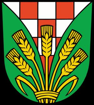 Ahrensfelde - Image: Wappen Ahrensfelde