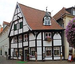 Im Ort in Warendorf