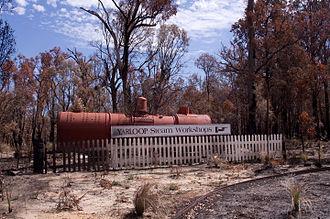 Yarloop, Western Australia - Image: Waroona fire 2016 gnangarra 230116 115