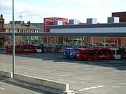 Warrington Bus Interchange exterior