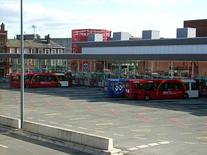 Warrington - Warrington Bus Interchange in October 2009