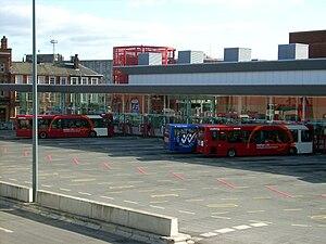 Warrington - Warrington Bus Interchange in October 2009