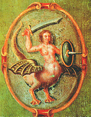 History of Warsaw - 1659 image of the Warsaw Siren