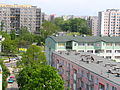 Warszawa Mokotów, Aleja Lotników w dali os.Służew Nad Dolinką - panoramio.jpg