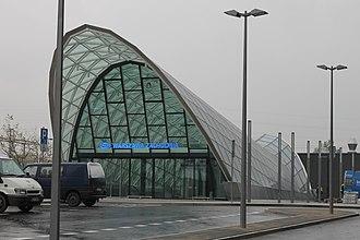 Warszawa Zachodnia station - new station building at Jerusalem Avenues