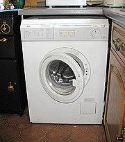 Front-loading washing machine.