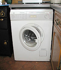 Front-loading washing machine.
