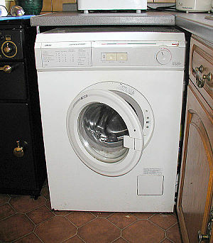 Washing - A private home washing machine