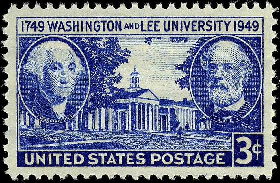 Washington and Lee Univ 3c 1949 issue